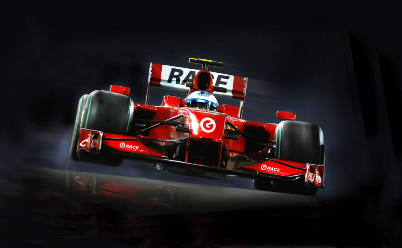simulateur-F1 Gpark
